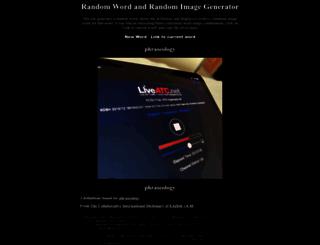 randomword.net screenshot