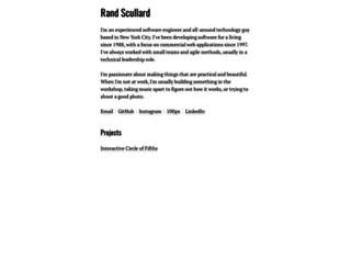 randscullard.com screenshot