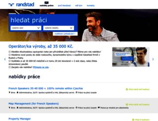 randstad.jobs.cz screenshot