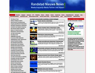 randstadnieuws.nl screenshot