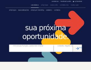 randstadprofessionals.com.br screenshot