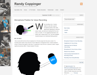 randycoppinger.com screenshot