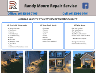 randymoorerepairservice.com screenshot