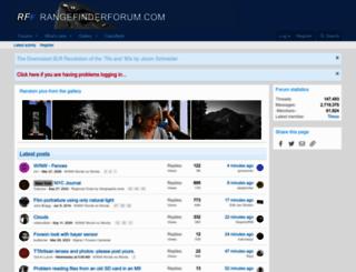 rangefinderforum.com screenshot