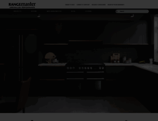 rangemaster.co.uk screenshot