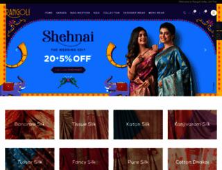rangoliindia.com screenshot