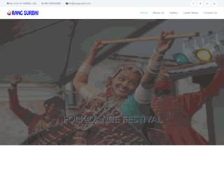 rangsurbhi.com screenshot