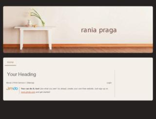 raniapraga.jimdo.com screenshot