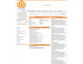 rank-page.com screenshot