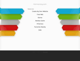 rank.karmacracy.com screenshot