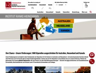 ranke-heinemann.de screenshot