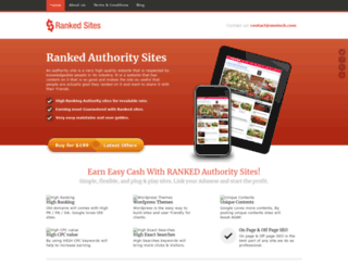 rankedsite.seoinch.com screenshot