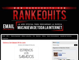 rankeohits.com screenshot