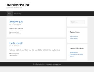 rankerpoint.in screenshot