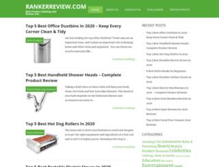 rankerreview.com screenshot