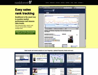 rankforest.com screenshot