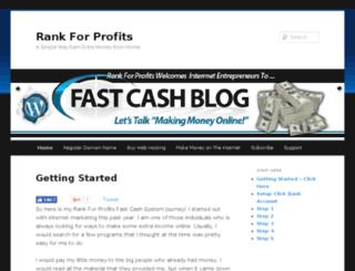 rankforprofits.com screenshot