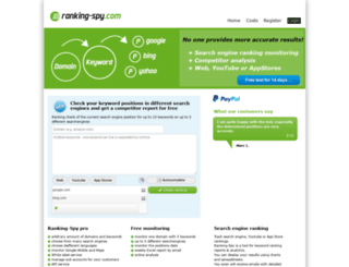 ranking-spy.com screenshot