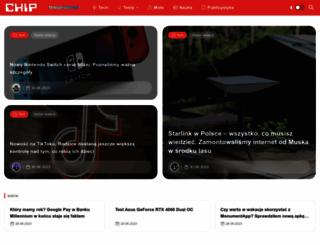 rankingi.chip.pl screenshot