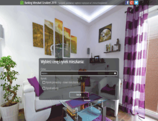 rankingmieszkania.pl screenshot