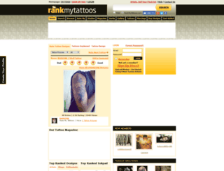 rankmytattoos.com screenshot