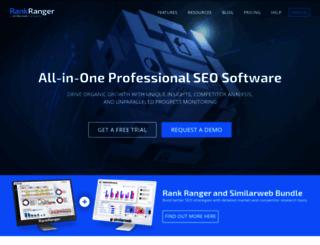 rankranger.com screenshot