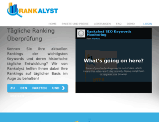 ranksetter.de screenshot