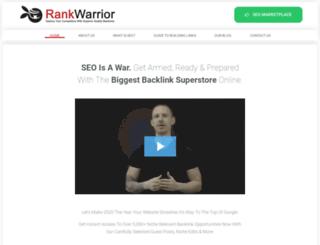 rankwarrior.co.uk screenshot