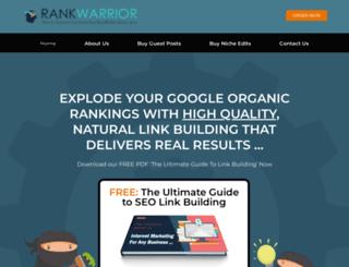 rankwarrior.com screenshot