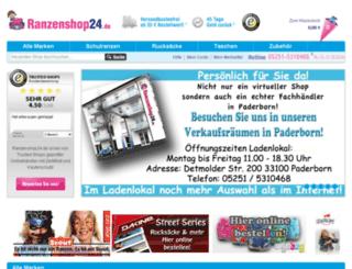ranzenshop24.de screenshot
