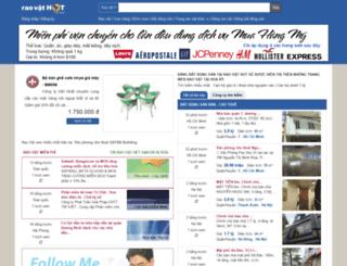 raovat.tretoday.net screenshot