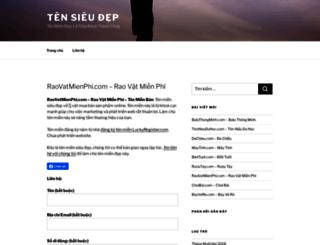 raovatmienphi.com screenshot