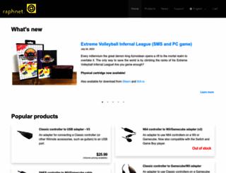raphnet-tech.com screenshot