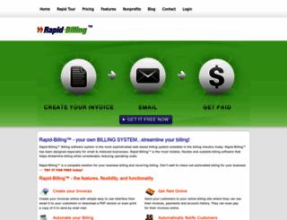 rapid-billing.com screenshot