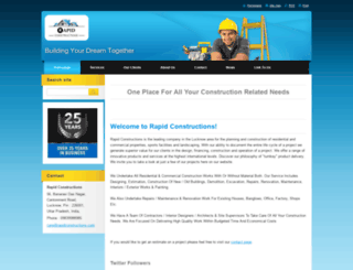 rapid-constructions.webnode.in screenshot