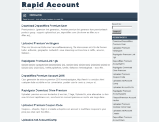 rapidaccount.co screenshot