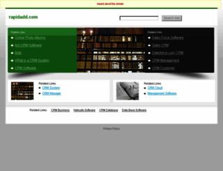 rapidadd.com screenshot