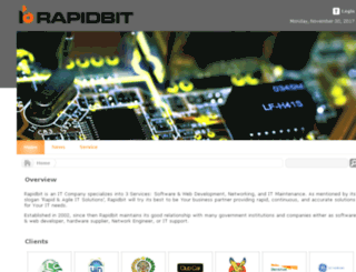 rapidbit.com screenshot