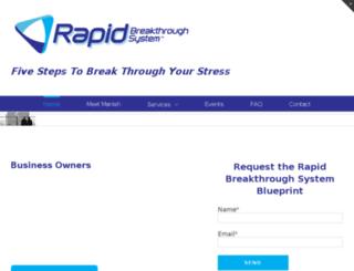 rapidbreakthroughsystem.com screenshot