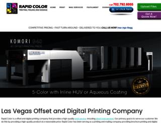 rapidcolor.com screenshot