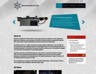 rapidflowindia.com screenshot