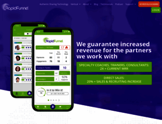 rapidfunnel.com screenshot