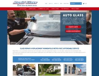 rapidglass.com screenshot
