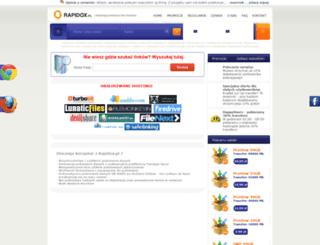 rapidkonta.pl screenshot