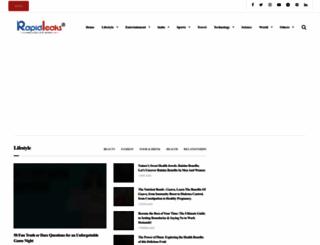 rapidleaks.com screenshot