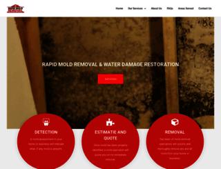 rapidmoldremoval.ca screenshot