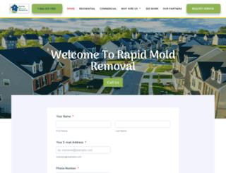 rapidmoldremoval.com screenshot