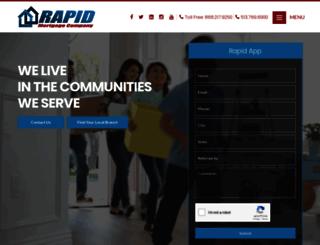 rapidmortgagecompany.com screenshot