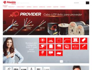 rapidoinfoshop.com.br screenshot
