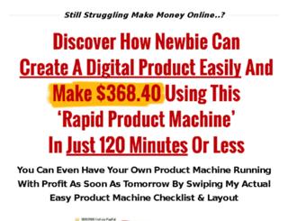 rapidproductmachine.com screenshot